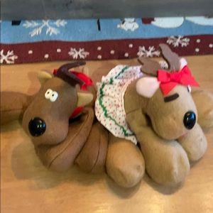 Vintage Rodney & Rhonda hallmark reindeer